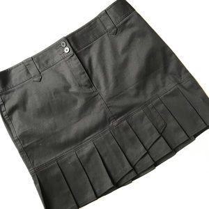 Loft Cotton Pleated Skirt